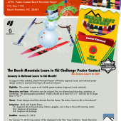 January's Learn to Ski Poster Contest