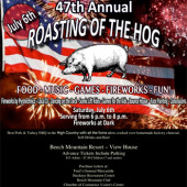 Beech Mountain's 47th Annual Roasting of the Hog