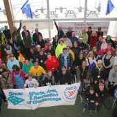 33rd DS USA Adaptive Learn to Ski Event