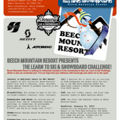 January is National Learn a Snowsport Month