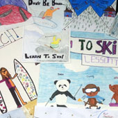 Ski Poster Design Contest Winners