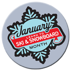 January is National Learn to Ski Month
