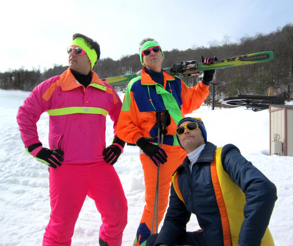 Totally Retro 80s Ski Weekend