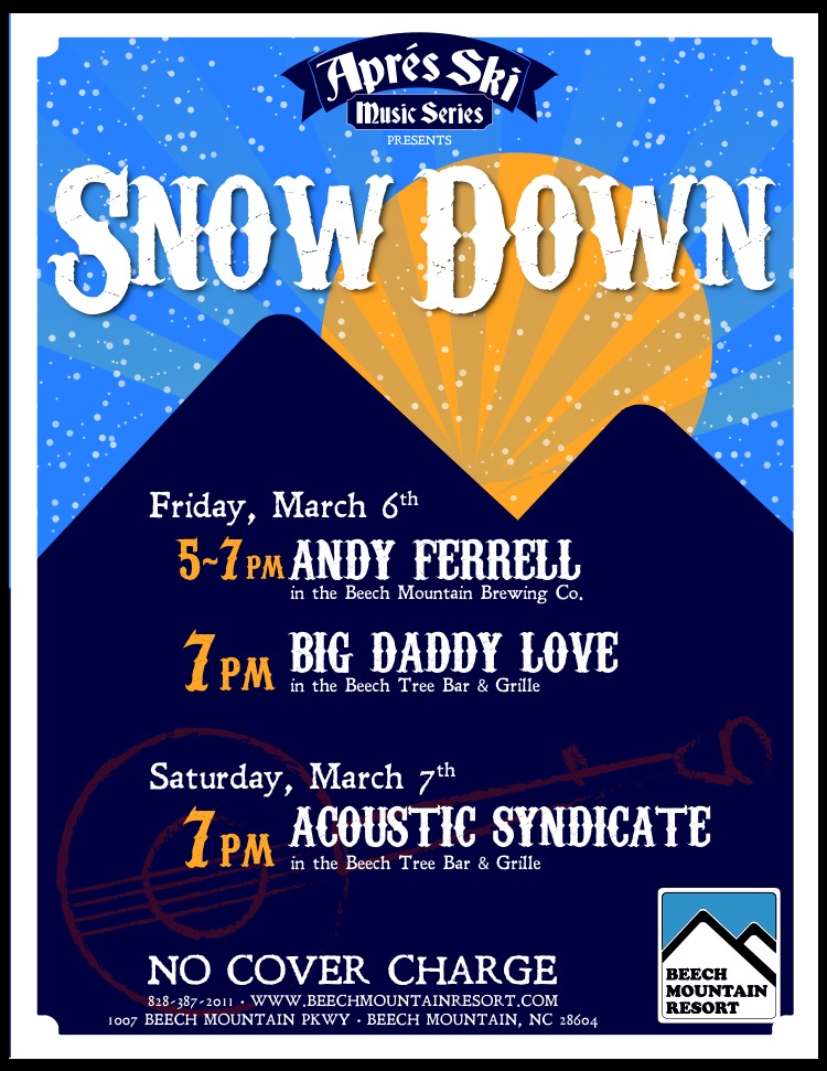 Après Ski Music Series Announces SnowDown!