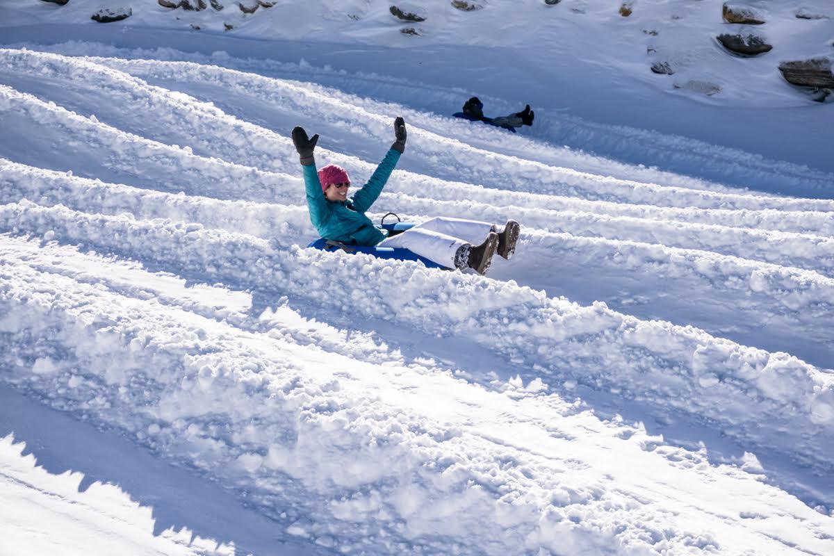 if you like sledding you will love tubing - Christmas Mountain Tubing