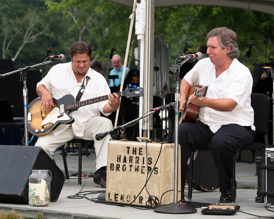 Harris Brothers and Symphony By The Lake At Chetola in Blowing rock NC