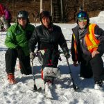 Brumbaugh has helped the Disabled Sports USA chapter and the Sports Parks and Recreation group of Chattanooga, an affiliate chapter of the Disabled Sports USA Adaptive Learn to Ski Program at the Beech Mountain Resort in Beech Mountain, North Carolina with the group.