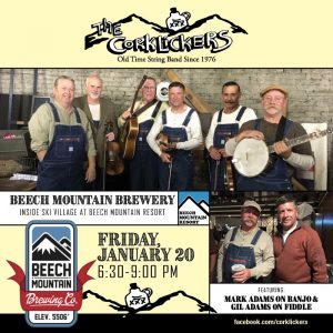 the corklickers at beech mountain brewing company