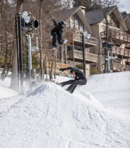 Beech Mountain banked slalom