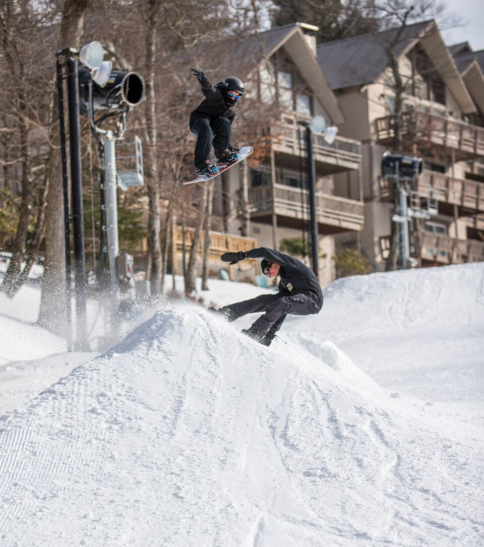 Freestyle Beech Terrain Park Skiers Amp Snowboarders