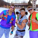 80's ski apparel parade