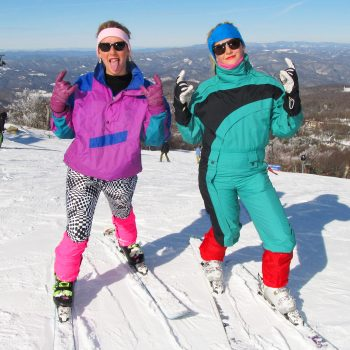 80's apparel ski parade