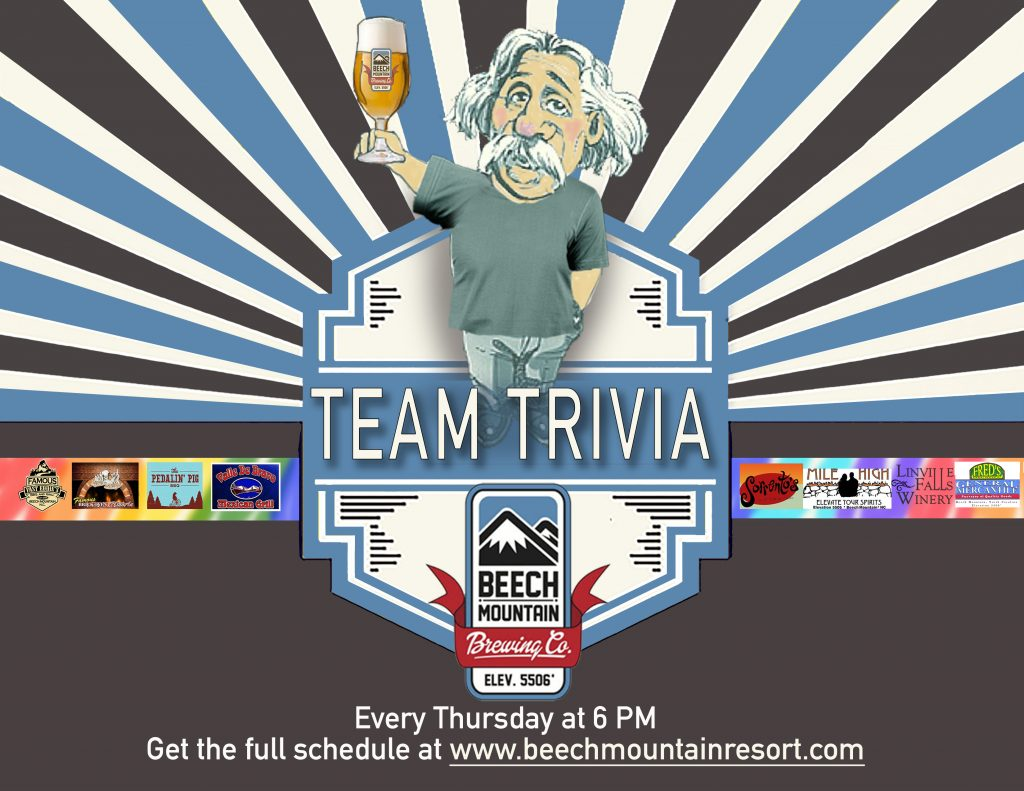 Summer Team Trivia Series @ Beech Mnt. Brewing Co.