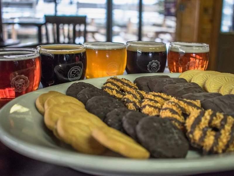 beer and cookie pairing