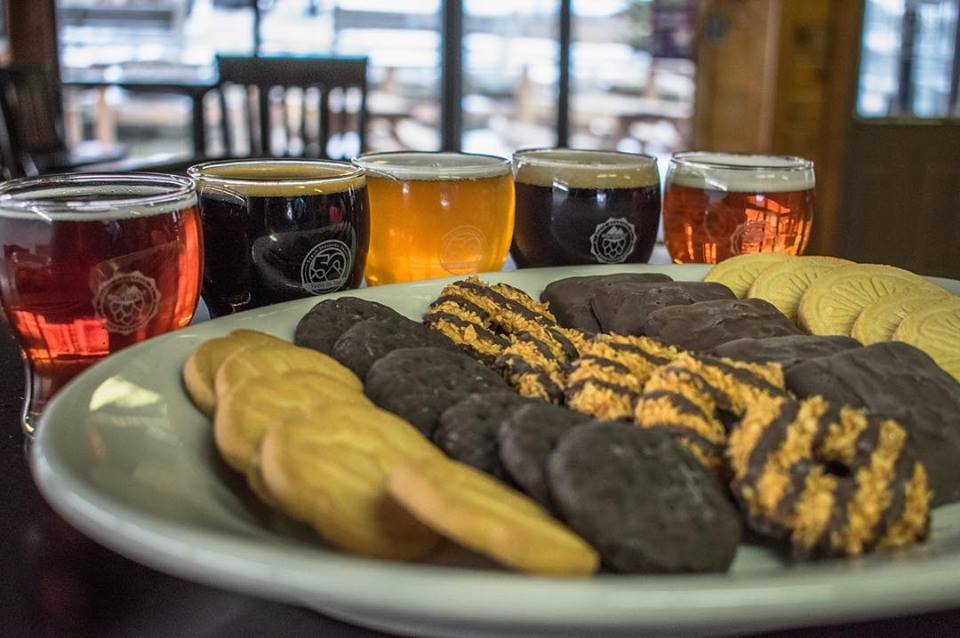 Girl Scout Cookie & Beer Pairing!