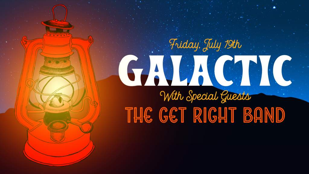 Galactic + The Get Right Band at Beech Mountain Resort