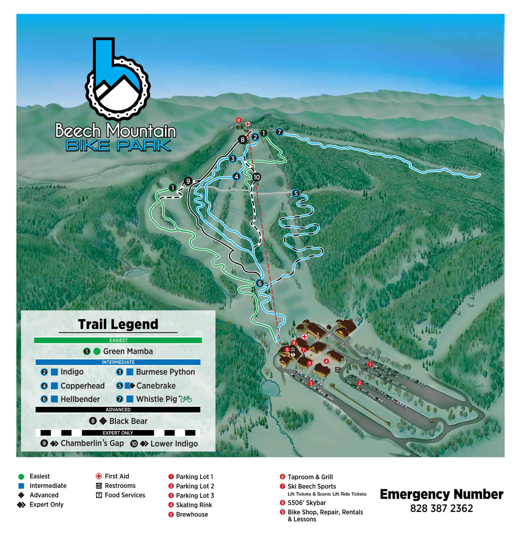 Summer Trail Map - Beech Mountain Resort on sapphire valley nc map, nc lake map, nc elevation map, asheville nc map, nc art map, nc terrain map, nc mountain map, nc snow map, nc city map, nc travel map, nc school map, nc water map, nc wine map, beech mountain north carolina map, nc restaurant map, nc beach map, nc boating map, nc golf map, nc fun map, nc camping map,