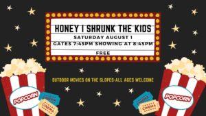 Honey I Shrunk the Kids Movie Night