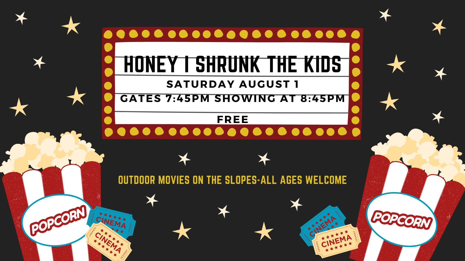 Honey I Shrunk the Kids Movie Night