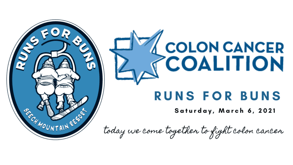 Banner for the Colon Cancer Coalition