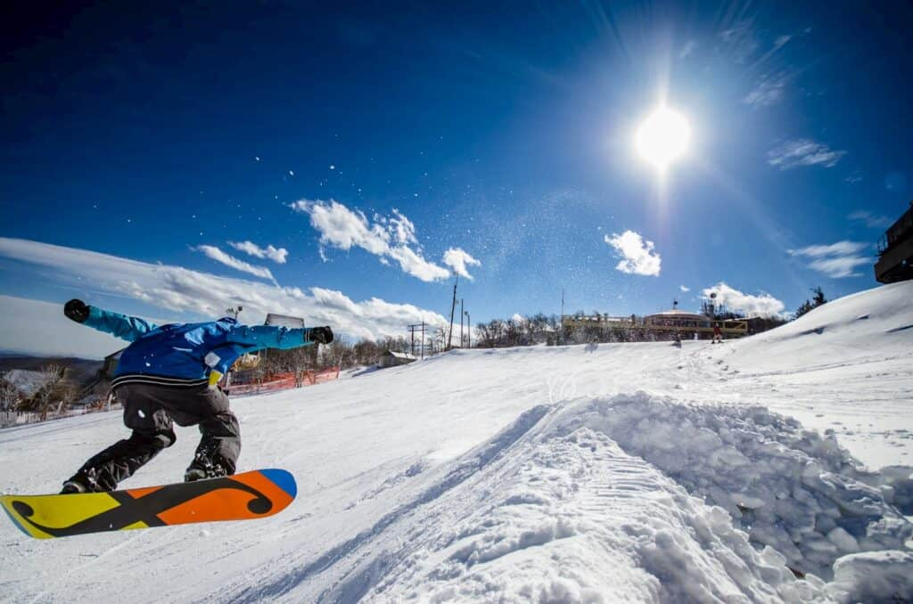 Skiing Beech Mountain Resort Winter