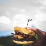 Cheeseburger at Beech Mountain Brewing Co.
